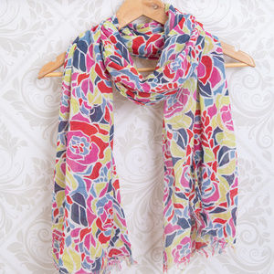 OLD NAVY Summer Floral Scarf Wrap